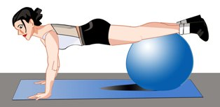 free exercise ball workout for women  get lean get strong