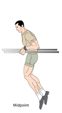 Dips Midpoint Position
