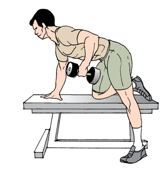 How To Dotricep Kickbacks Exercise With Dumbbells Build Triceps Muscle