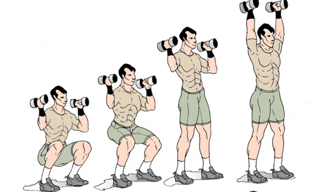 thrusters exercise
