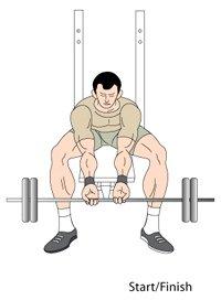 Forearm/Wrist Curls Position One