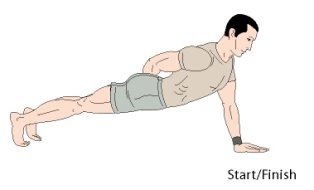 one arm pushups bodyweight exercise
